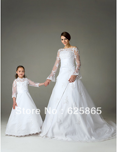 1e0dc72092b Lace Girl Dress First Holy Communion Dress Pageant Dress-in Flower ...