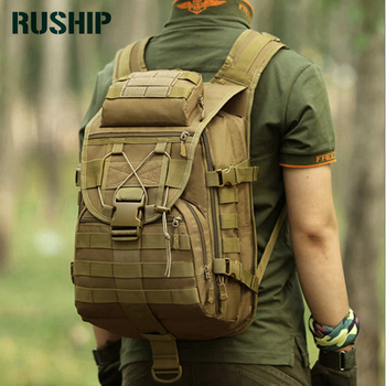 Hot 3P 40L aterproof Molle Backpack Military Tad Tactical Backpack Assault Travel Bag For Men Women Tactical Hunting Backpack