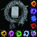9 colors connectable LED Christmas lights indoor outdoor decoration 10M 50 leds Led String Lights US EU AU plug fairy Lights