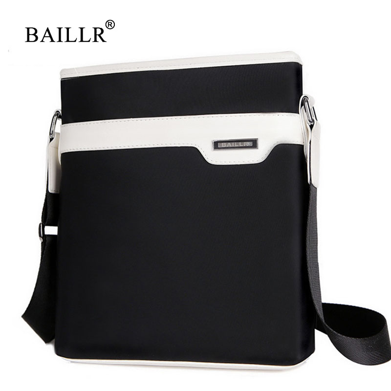 BAILLR Brand 2017 fashion men messenger bag shoulder bag designer famous brand crossbody bag for men nylon Flap Bag Male Bolsa new fashion man bag high quality nylon men messenger bags black famous brand waterproof male shoulder crossbody bag fb3102