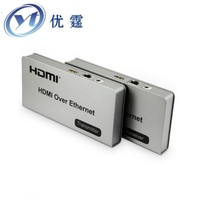 HDMI KVM Over TCP IP Extender 120m USB Twisted Pair Transceiver 1080P Can Be Connected Gigabit