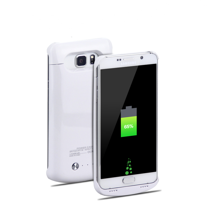 1pc/lot Wireless Power Clip Battery Case 4200mAh Power Bank Fit for Samsung Note5 power banks