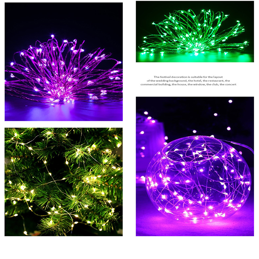2m 20LEDs Wire String Fairy Light Lamp W/CR2032 Battery Christmas