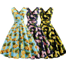 a254c58d864 Buy vintage lemon dress and get free shipping on AliExpress.com
