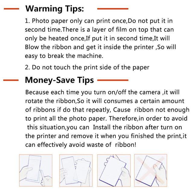 6 Polegada cartucho cp1300 compatível para canon selphy impressora cp1200 cp910 cp900 3 cartrdige tinta + 108 folha foto papel KP-108IN