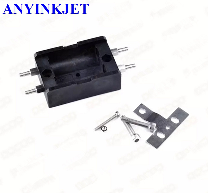 For Imaje ink line solenoid valve block holder EB10133-PC1647 for Imaje S4 S8 9040 printer for imaje s4 s8 pre head cover before of the head eb6180 b
