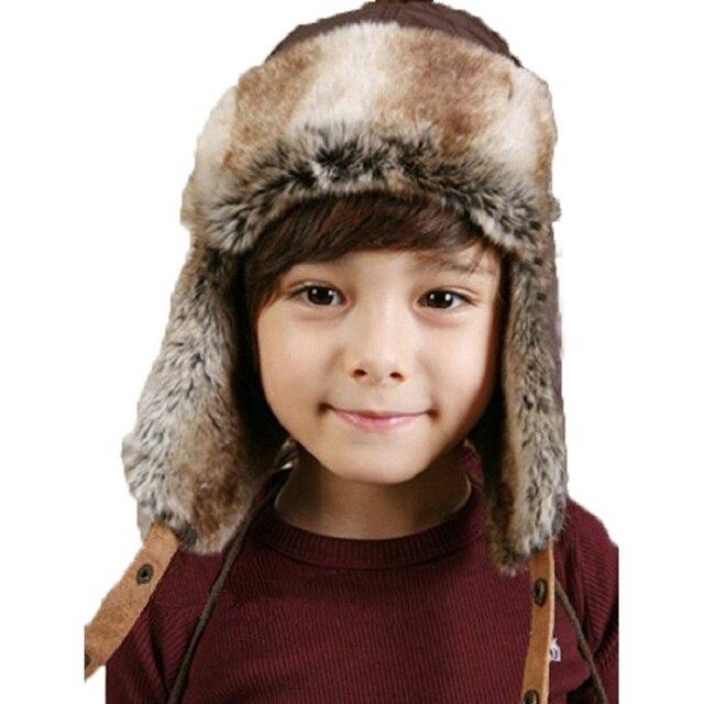 Bnaturalwell Kinder Bomber Hüte Mode Winter Ski Trapper Hut Mit ...