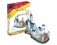 Neuschwanstein Castle CubicFun 3D Educational Puzzle Paper EPS Model Papercraft Home Adornment For Christmas Birthday Gift