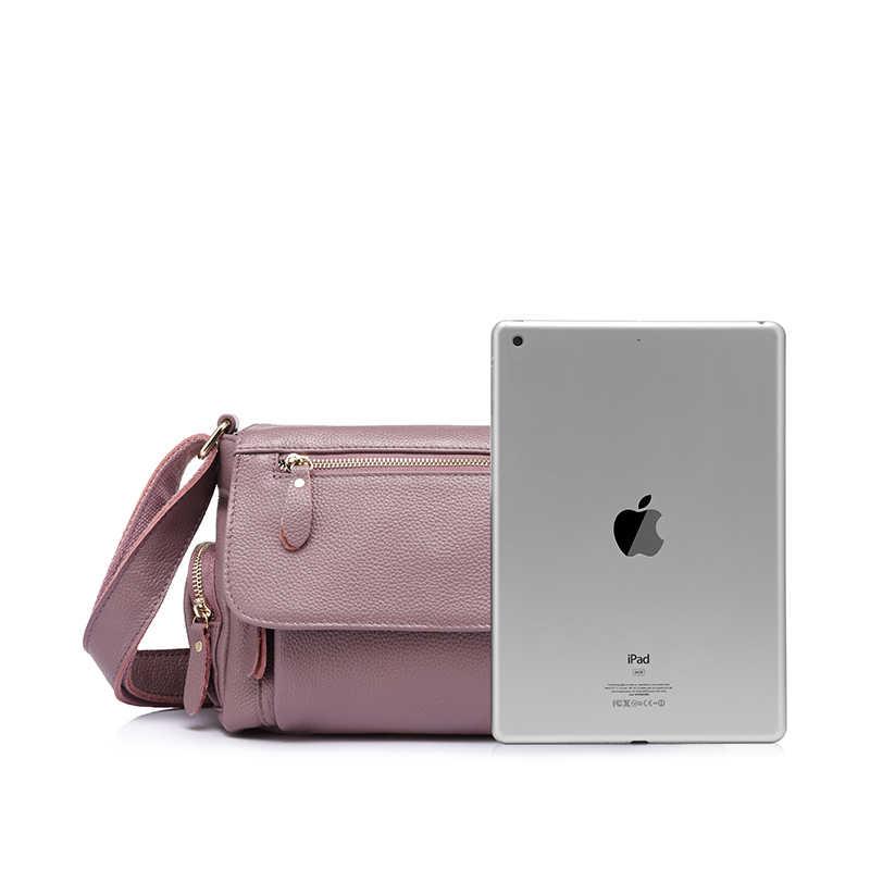 Realer Merek Wanita Tas Tangan Kulit Asli Tas Bahu Wanita Mewah Tas Selempang Berkualitas Tinggi Messenger Bags Designer 2019