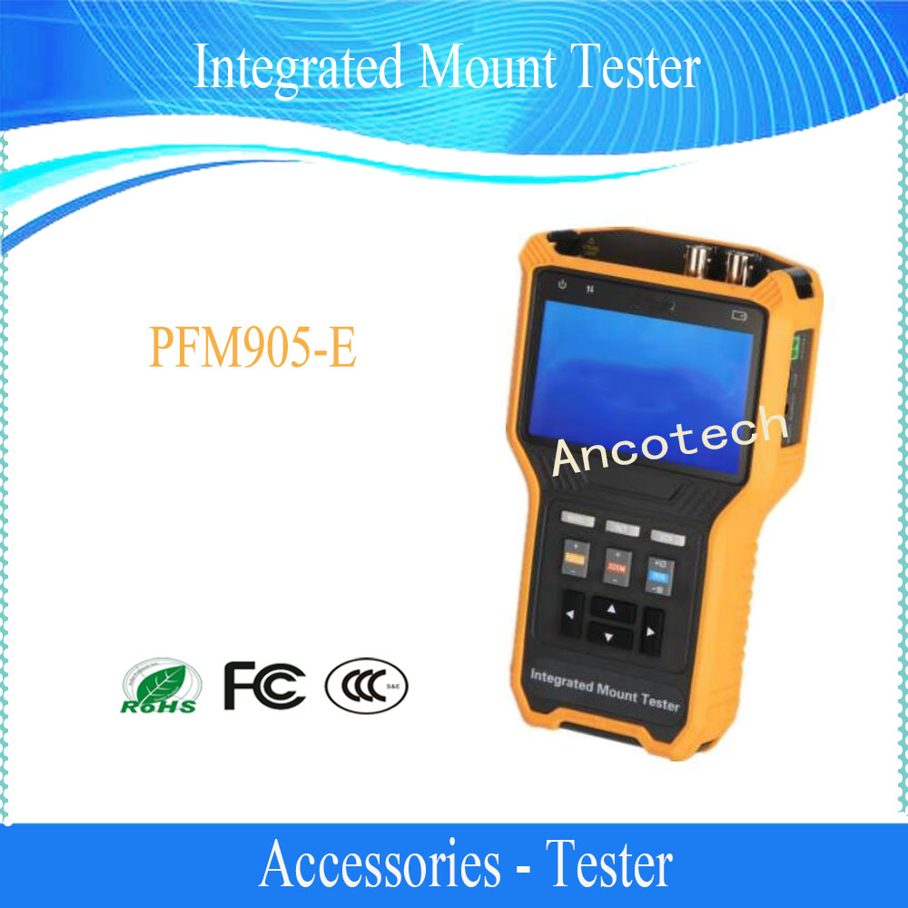 Free Shipping Dahua Integrated Mount Tester Without Logo CCTV Tool Accessories PFM905-E