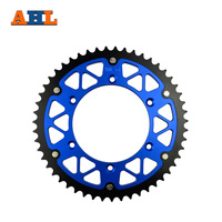 51T High Performance Motorcycle Steel Aluminum Composite Rear Sprocket For KTM GS 125 GS125 1994 1997