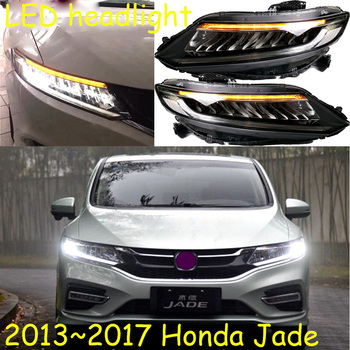 car bumper headlamp JADE headlight 2013~2017y LED DRL car accessories HID xenon Jade front light fog