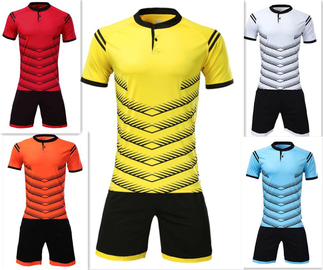 e192f86f Men's Football Jerseys men Soccer Sets adult custom Football Jerseys  Breathable Sweat out Sports Wear Kits can customized logos