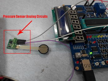 Free Shipping with track 5pcs Original Pressure Sensor Analog Circuits for FSR400/FSR402/FSR406/FSR408 Analog pcba