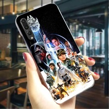 Star Wars Hard Case for Huawei Y7 Prime 2018 Fashion Phone Cover Honor 6A 7A pro 8 Lite 9i 10 Back Covers