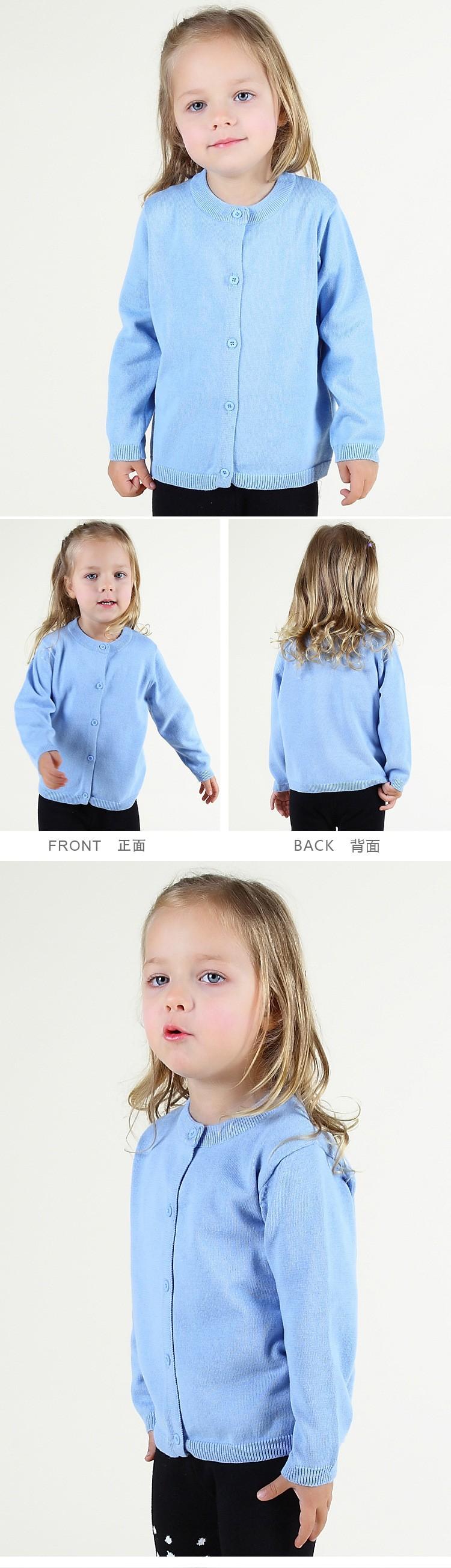 5cd3cc1fc 2016 BBW style autumn winter cotton knitted cardigan baby boys girls ...