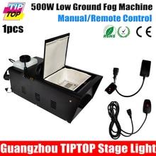 TIPTOP Nueva Llegada 500 W Máquina De Humo Bajo Añadir Hielo Normal bloque para Mantener la Niebla de Tierra Situada China Máquina de Efecto de Etapa 90 V-240 V