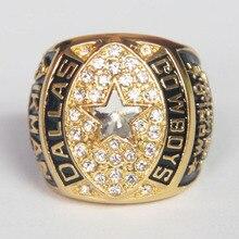 Drop Shipping Dallas Cowboys 1992 Replica championnat anneau personnalisé Big taille 11 anneau Sport bijoux