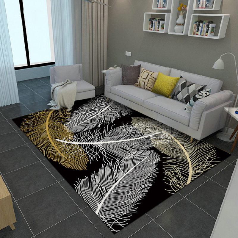 Modern abstract carpets for living room sofa coffee table - Modern carpets for living room ...