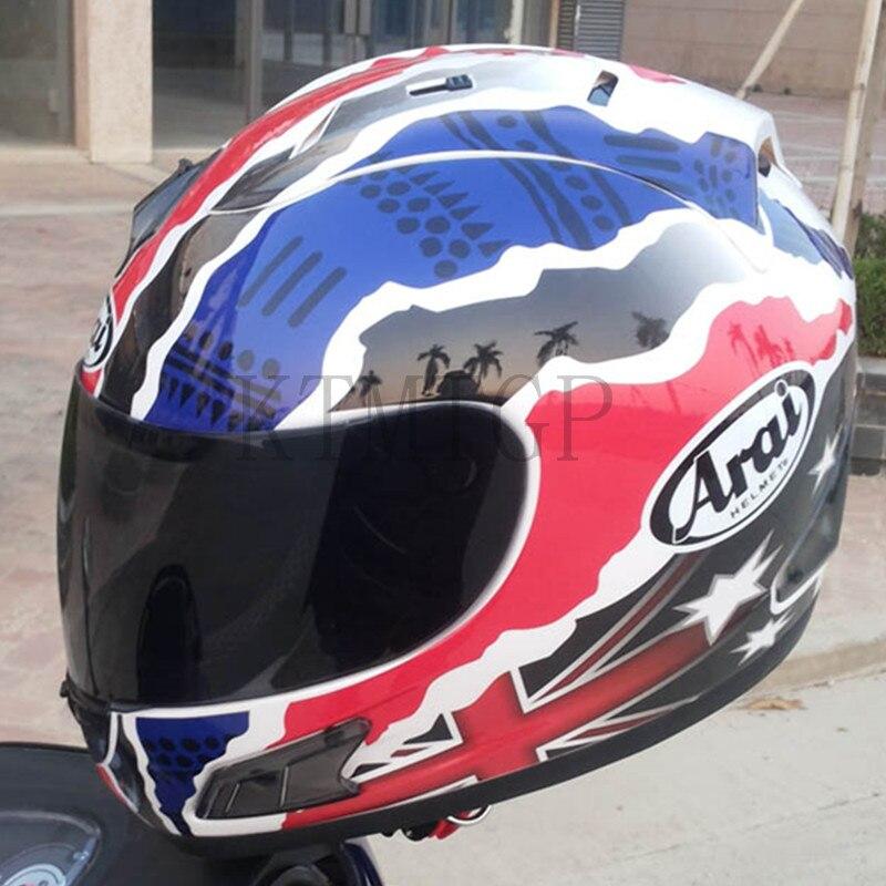 Casque Arai Rx7-casque de course top RR5 pedro moto rcycle casque intégral moto rcycle, capacete, casque de moto - 4