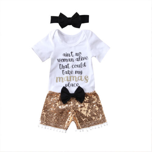 df0fc64ce Infant Baby Girl Boy Casual Cotton Romper Jumpsuit Letter Printing T ...