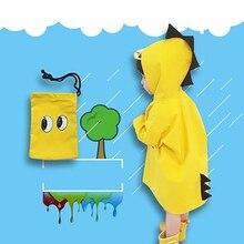 Cute Girls Poncho Kids Raincoat Waterproof  Chubasquero Mujer Impermeable Jas Hujan Anak Child Rain Cover 50KO110