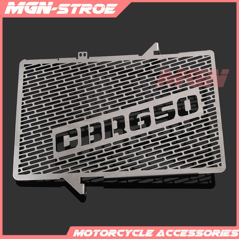 Motorcycle parts Stainless Steel Radiator Grille Guard Cover Protector For CBR650F CBR 650F CBR650 F CBR 650 F 2015 2016 15 16
