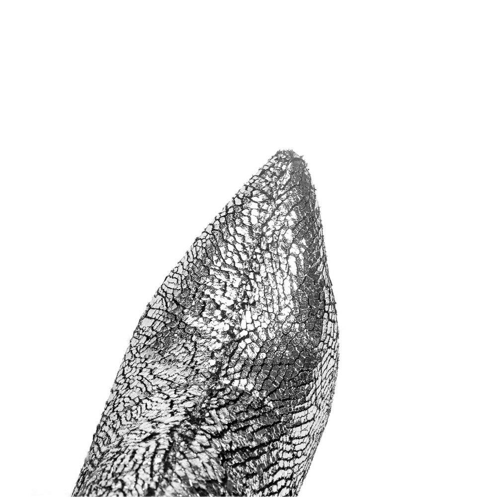 Themost Femelle Genou Fissure Longue Hiver À Peluche or Le argent Automne Pointu Élastique Talon Et Sur Noir Bottes Haut Chaud Court Burst wXXrB