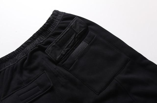 Mens joggers Casual trousers harem pants Men black Fashion swag dance drop crotch Hip Hop sweat pants sweatpants 6