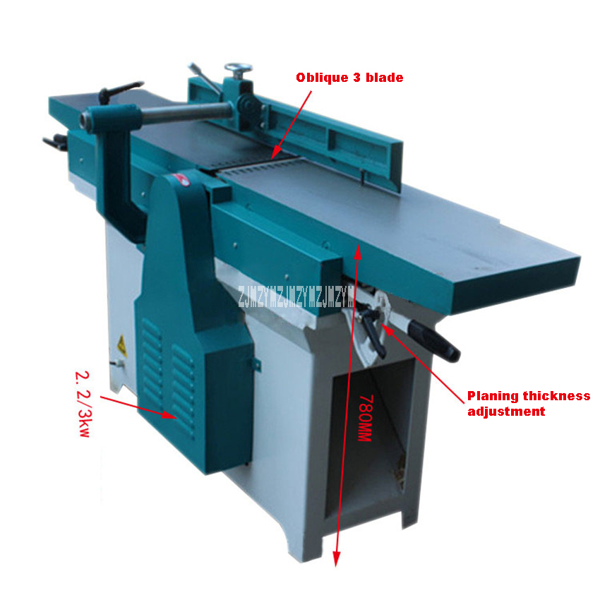New Arrival MB503 Wood Working Machine18m Planer Planing Machine 380v 22KW 6000r Min 300mm Oblique Mouth 1800 In Planers From Tools