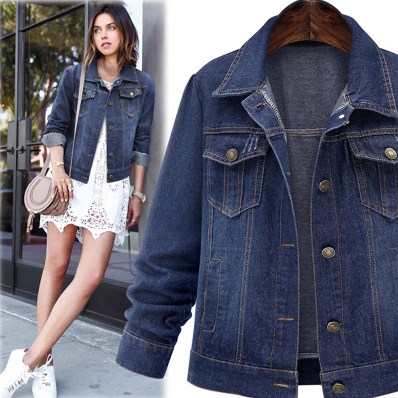 Popular Jean Jackets for Women Plus Size-Buy Cheap Jean Jackets ...