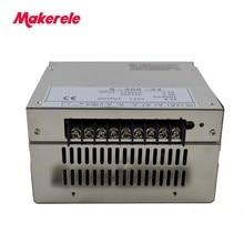 200w  S-200-48 4.2A Uninterruptible Adjustable ac 110v/220v to dc 48v Switching power supply for LED Strip light