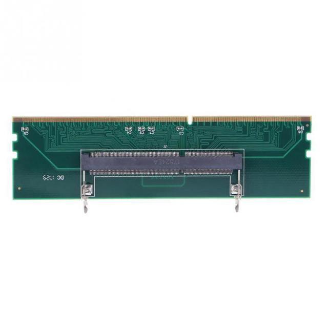 2018 New DDR3 SO DIMM Để Máy Tính Để Bàn Adapter DIMM Nhớ Kết Nối Card Adapter RAM 240-204 P Máy Tính Thành Phần phụ kiện