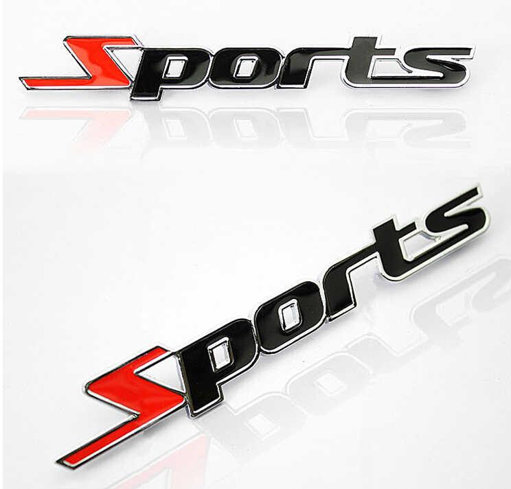 Pegatina de metal cromado para coche con diseño de letras deportivas en 3d para Vauxhall Adam Astra Vectra Vxr8/Smart Forfour Fortwo Roadster