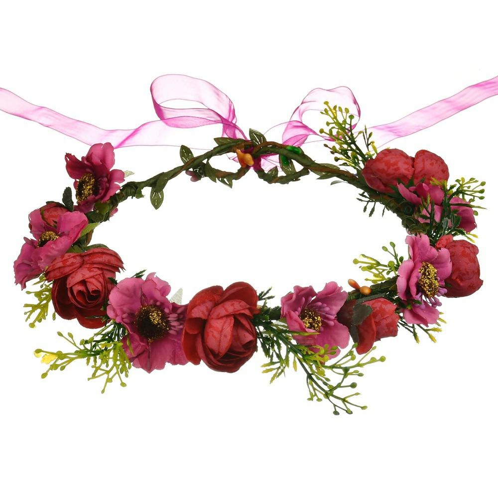 Buy flower crown red and get free shipping on aliexpress izmirmasajfo