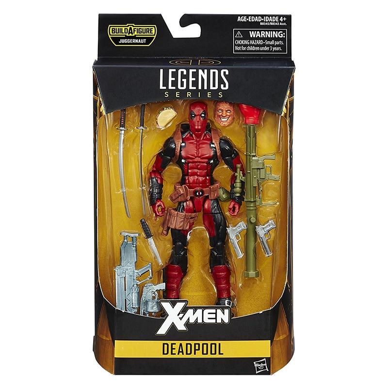 Marvel X Men Super Hero Deadpool 2 Legends Serie Figura Con La Scatola Al Minuto 6