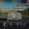 Universo de navegación hud car proyección stands soporte para coche para ipad iphone samsung huawei xiaomi