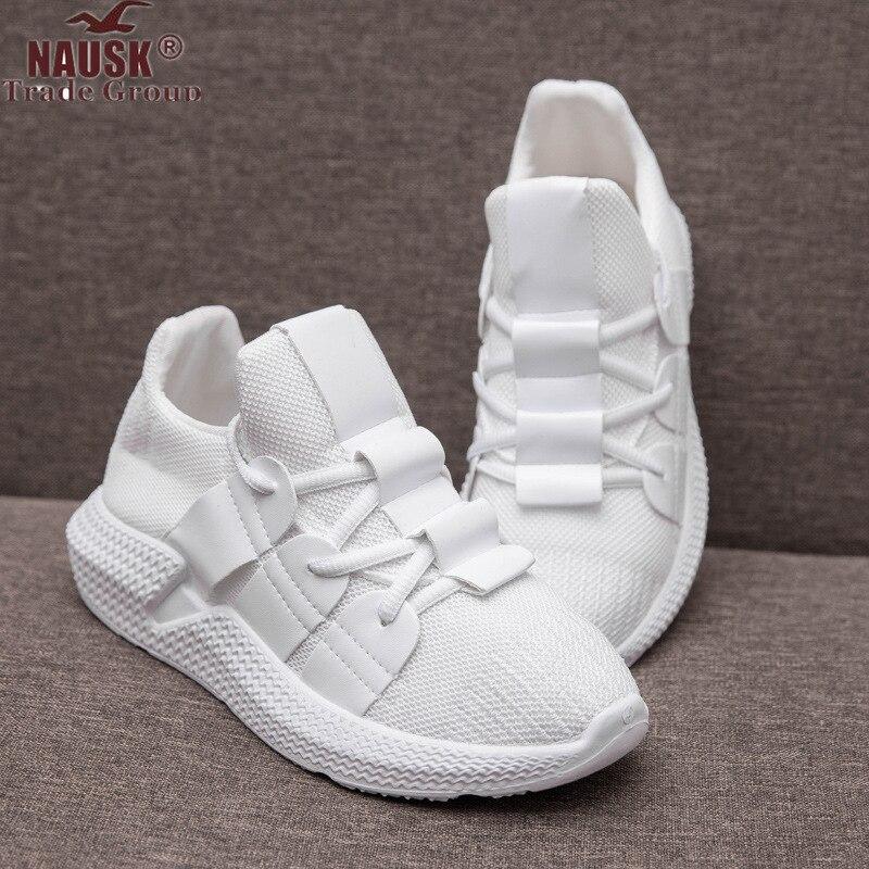 huge selection of a1299 7ef55 NAUSK Turnschuhe Frauen Plattform Casual Schuhe Frauen 2019 Mode Weiße  Schuhe Zapatos De Mujer Turnschuhe Plattform Korb Femme