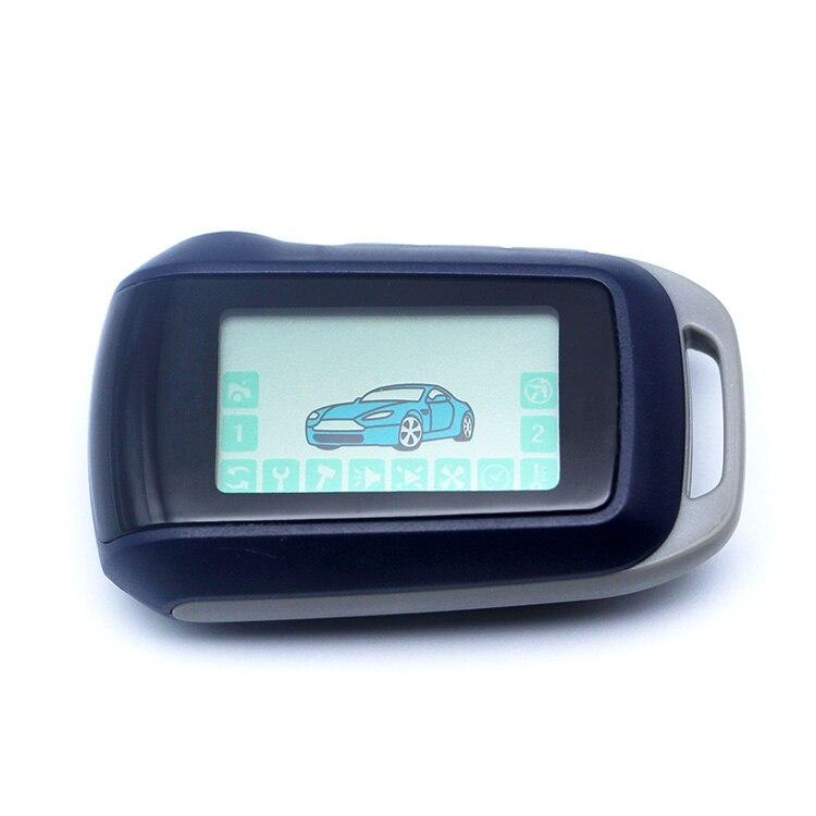 A94 2-way LCD Télécommande Clé Fob Chaîne/Porte-clés Approprié pour Deux Voies Système D'alarme de Voiture Starline A94