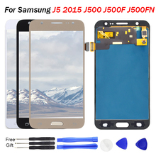 For Samsung Galaxy J5 screen display 2015 J500 J500F J500FN J500M J500H LCD Display Touch Screen Digitizer Parts For Samsung J5 все цены