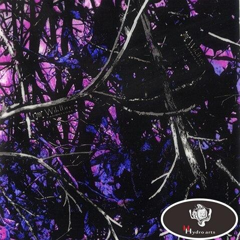 Excelente calidad hojas CAMO película hidrográfica transferencia de agua película de impresión 50 cm ancho Aqua impresión hfy-937