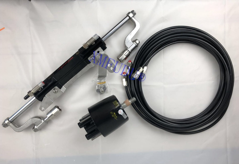 Outboard Hydraulic Steering System For Engines Till 300 HP