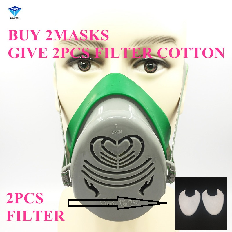 N3800 Anti-Dust Respirator Filter Paint Spraying Cartridge Gas Mask New Brand New High Quality windproof anti dust mask eyes protection goggles filter protective respirator painting spraying face mask breathable mouth mask