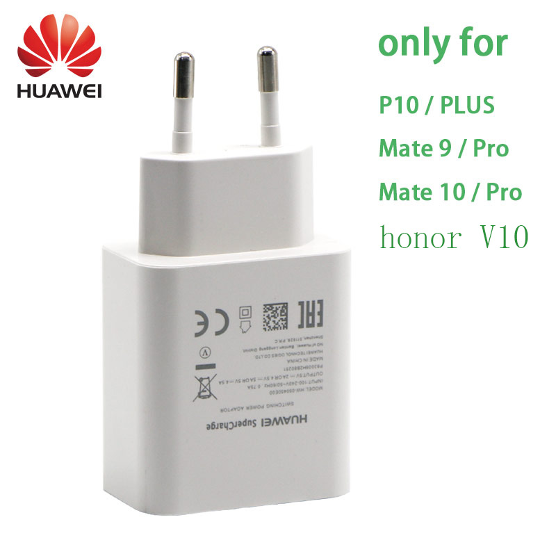 Original Huawei Mate 9 10 Pro P10 más P20 Pro Honor V10 Supercharge rápido cargador súper 4.5V5A tipo USB 3,0 tipo C Cable