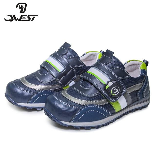 Весенне-летняя дышащая прогулочная обувь на липучке с геометрическим рисунком фламинго для мальчиков, размеры 28-33, бесплатная доставка, 81P-XY-0797