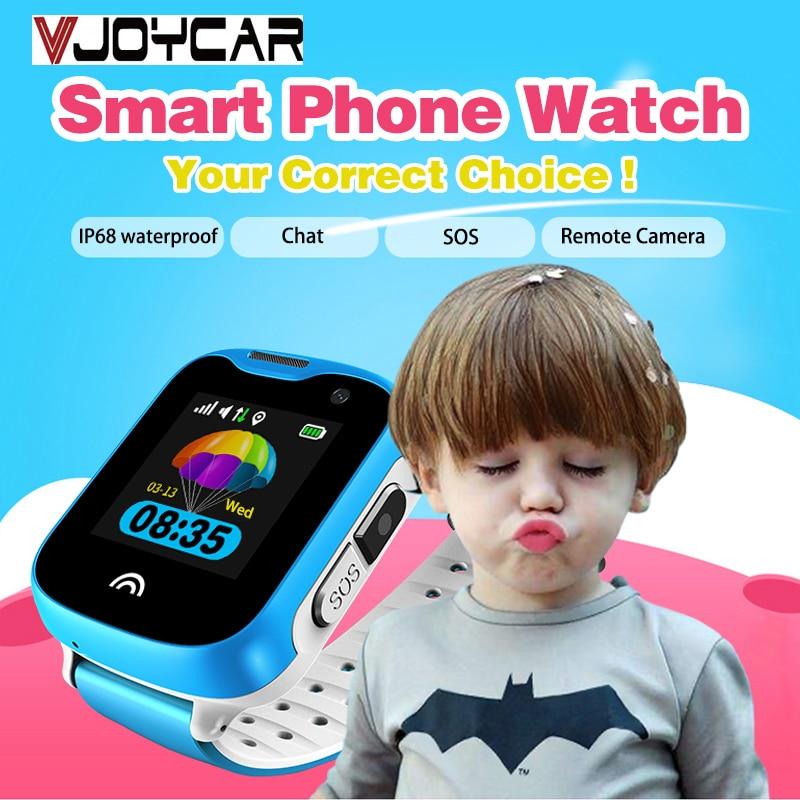 Waterproof mini GPS Tracker Child Smart Watch Phone Remote Camera SIM Card 2 way Calls SOS