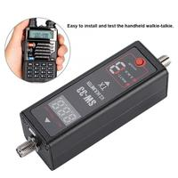 Speaker Terminal Plug Sw 33 Mini Digital Standing Wave Table/Power Meter Dc Ammeter 100 240V Speaker Cable Eu Plug