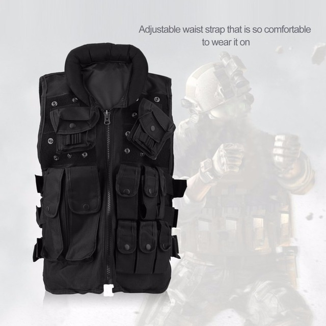 OUTAD Tactical Man Woman Vest Top Ammo Military Hunting Combat Carrier Outdoor Sports