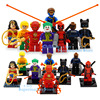 Super Heroes Batman DC Marvel Harley Quinn Robin Killer Whale Hulk Motorcycle Avengers Toy Building Block