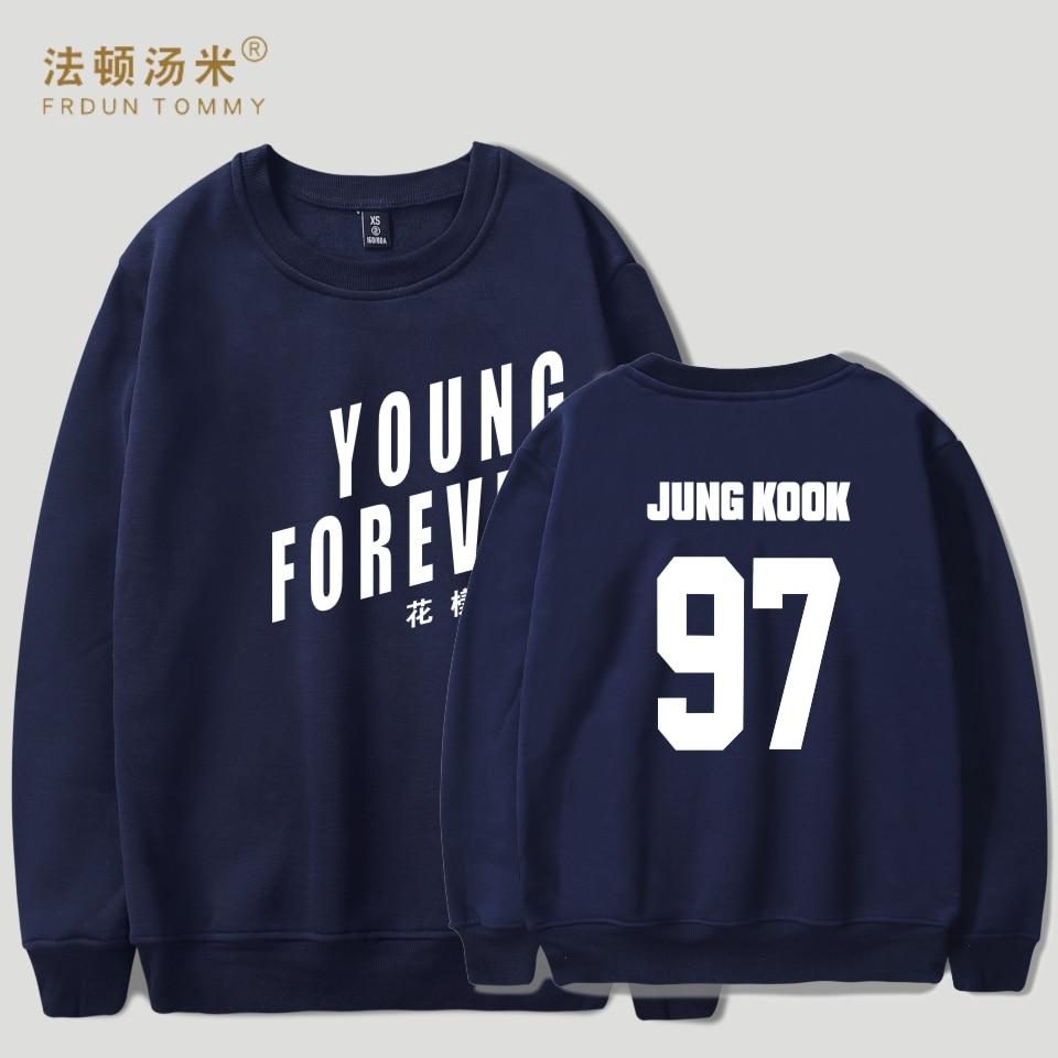 Frdun Tommy Kpop Bangtan Capless Women Hoodies Sweatshirts Korean Bts Sweatshirt Women Cotton Casual Young Forever Album Clothe